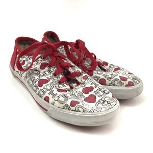 UGG | Girls I Heart Ugg Printed Sneakers Shoes 2